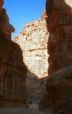 Siq, Petra, Jordan Royalty Free Stock Image