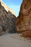 The Siq, Petra Stock Images