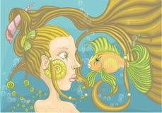 Sirène Illustration Libre de Droits
