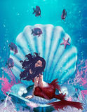 Sirène   illustration de vecteur