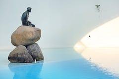 Sirène dans le pavillon du Danemark Photos libres de droits