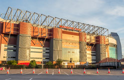 Sir Alex Ferguson stand in Old Trafford stadium Stock Images