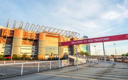 Sir Alex Ferguson stand in Old Trafford stadium Royalty Free Stock Photos