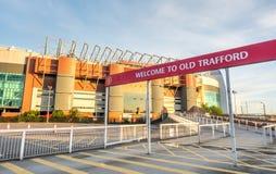 Sir Alex Ferguson stand in Old Trafford stadium Royalty Free Stock Photography