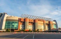 Sir Alex Ferguson stand in Old Trafford stadium Stock Photo