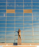Sir Alex Ferguson statue in Old Trafford stadium Royalty Free Stock Image