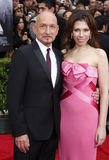 Sir Ben Kingsley and Daniela Lavender Royalty Free Stock Image