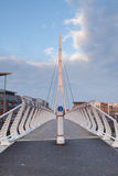 Sir Bobby Robson Bridge Royalty Free Stock Photos