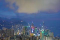 Sir Cecil's Ride view of hong kong Royalty Free Stock Photos