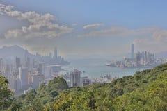 Sir Cecil's Ride view of hong kong Stock Photo