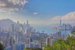 Sir Cecil's Ride view of hong kong Stock Photos