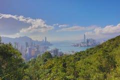 Sir Cecil's Ride view of hong kong Royalty Free Stock Photography
