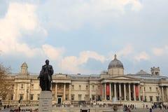 Sir Charles James Napier staty i Trafalgar Square Royaltyfri Fotografi