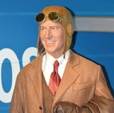 Sir Charles Kingsford-Smith. Photo taken at Madam Tussad's in Sydney in January 2014 Stock Photography