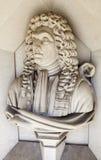 Sir Christopher Wren Sculpture à Londres Image libre de droits