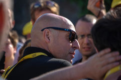 Sir Dave Brailsford Stock Foto's