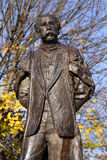 Sir Edward Elgar. Statue of Sir Edward Elgar - British composer - born near City of Worcester where this statue is located royalty free stock photos