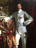 Sir Frank Athelstane Swettenham Portrait by John Singer Sargent Royalty Free Stock Photography