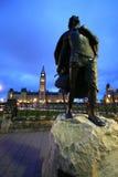 Sir Galahad Statues Photographie stock