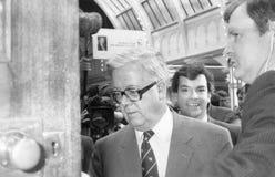 Sir Geoffrey Howe fotos de archivo libres de regalías