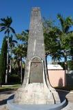 Sir George Somers Memorial, Bermude Fotografie Stock