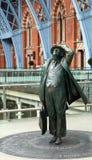 Sir John Betjeman statue Stock Image