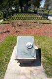 Sir John A Macdonald Grave nel cimitero di Cataraqui - Kingston - Canada fotografia stock
