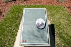 Sir John A Macdonald Grave nel cimitero di Cataraqui - Kingston - Canada fotografia stock libera da diritti
