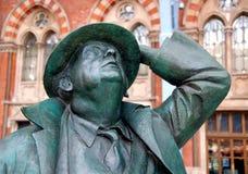 Sir John at St Pancras - 2 Stock Photography