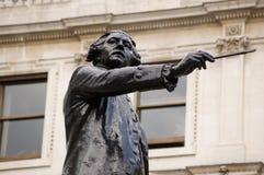 Sir Joshua Reynolds statue Royalty Free Stock Photography