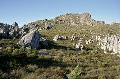 Sir Lowrys Pass South Africa. Sir Lowrys Pass Zuid Afrika stock images