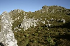 Sir Lowrys Pass South Africa. Sir Lowrys Pass Zuid Afrika stock photography
