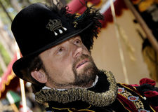 Sir Marcus. Dressed in Renaissance Attire at Celtic Festival Stock Photography