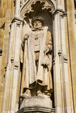 Sir Nicholas Bacon Statue at Corpus Christi College Stock Photos