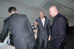 Sir Norman Foster, Dieter Lenzen, Klaus Wowereit Stock Image