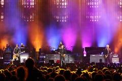 Sir Paul McCartney performs onstage at Olimpiyskiy Stock Image
