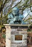 Sir Peter Scott, pintor famoso y naturalista Imágenes de archivo libres de regalías