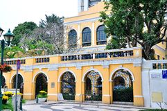 Sir Robert Ho Tung Library. In macao Royalty Free Stock Image