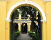 Sir Robert Ho Tung Library in Macau Stock Photos