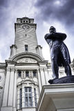 Sir Stamford Raffles at Victoria Theater,Singapore Royalty Free Stock Images