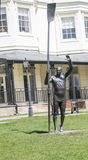 Sir Steve Redgrave Statue in Higginson Park Marlow Royalty Free Stock Photos