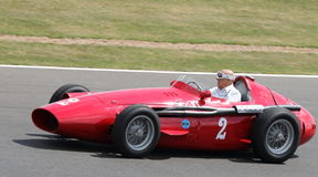 Sir Stirling Moss leads Grand Prix Celebration Stock Photos