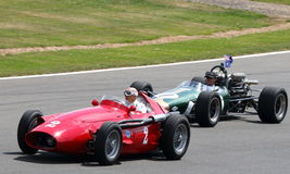 Sir Stirling Moss leads Grand Prix Celebration Stock Images