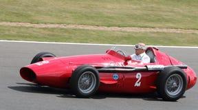 Sir Stirling Moss prowadzi Uroczystego Prix świętowanie Zdjęcia Stock
