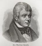 Sir Walter Scott Fotografia Stock