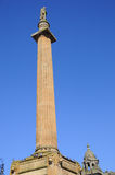 Sir Walter Scott-kolom royalty-vrije stock afbeelding