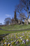 Sir Walter Scott Memorial Stock Photography