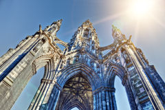 Sir Walter Scott memorial Royalty Free Stock Photography