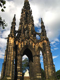 Sir Walter Scott Monument 07 Royalty Free Stock Photo