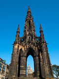 Sir Walter Scott Monument Royaltyfri Fotografi